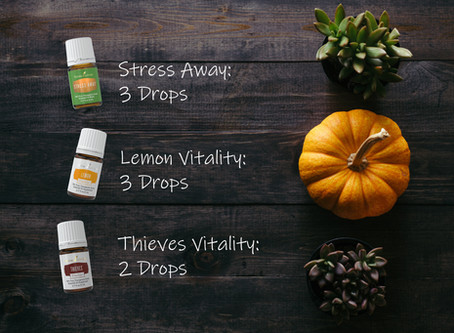 Creating a Healthy Home with Essential Oils: Fall Edition