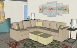 3D Colored View