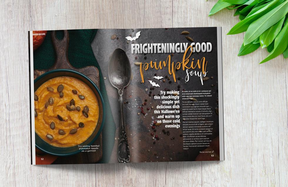 Magazine Recipe Article