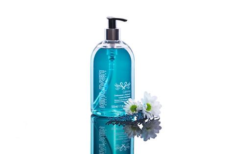 Product shot of Handwash bottle