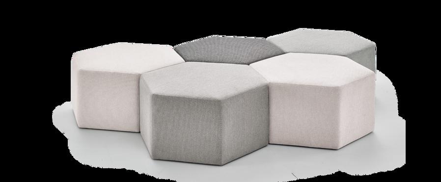 PUF07 puff pufe sofa modulo _ JARDIM kle