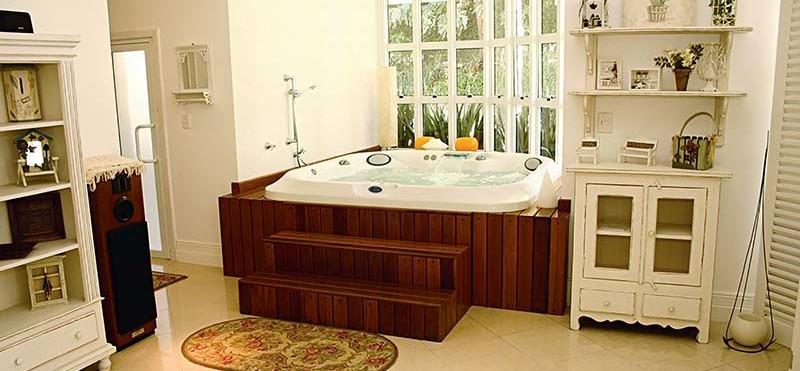 SPA07 banheira spa jacuzzi banheiro _J21