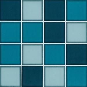 PAR51 ladrilho pastilha vidro azul _300x