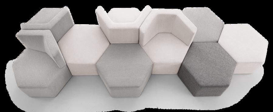 PUF06 puff pufe sofa modulo _ JARDIM kle