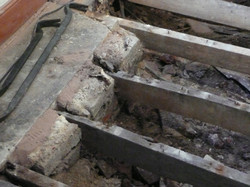 WET ROT IN JOISTS