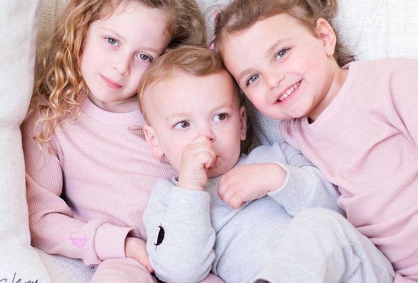 The Kids Waffle Sweatsuit