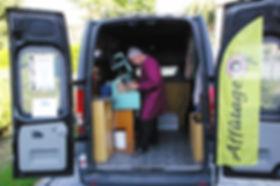 Atelier affutage aiguisage ambulant camion lyon rhone
