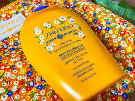 Tory Burch x Shiseido Sunscreen   Review