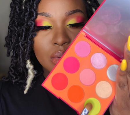 'Hot Girl' Summer Makeup Look | 9H Artistry Eyeshadow Palette