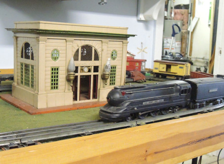 """All aboard"" at the Roscommon Model Railroad Club!"