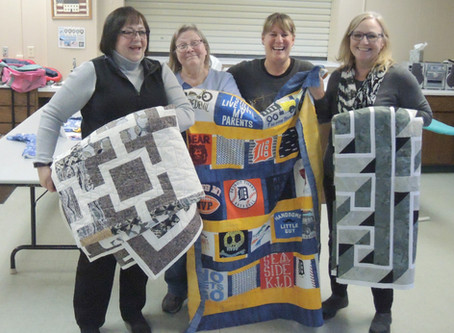 MIDNIGHT STITCHERS: Keeping Things Together  in Grayling