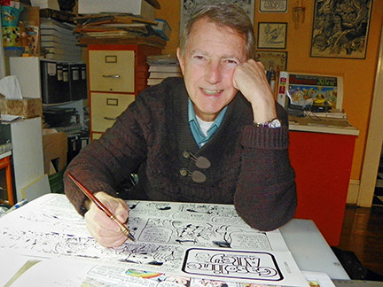 JIM SCANCARELLI: STEERING AMERICA'S OLDEST DAILY AND SUNDAY COMIC STRIP TO THE CENTURY MARK!