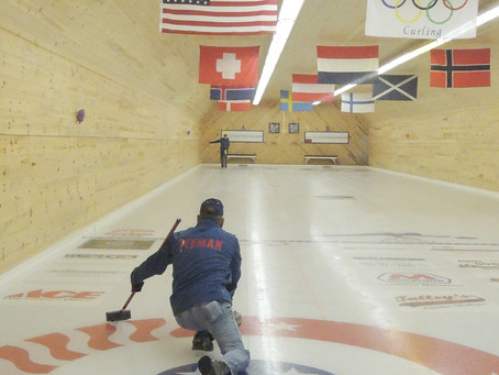 Curling Club enjoys uniqueness of sport