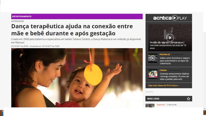 Dança terapêutica ajuda na conexão entre mãe e bebê durante e após gestação!