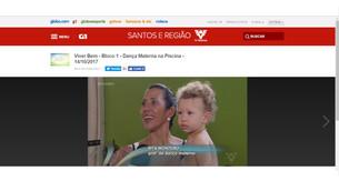 Dança Materna na TV Tribuna de Santos!