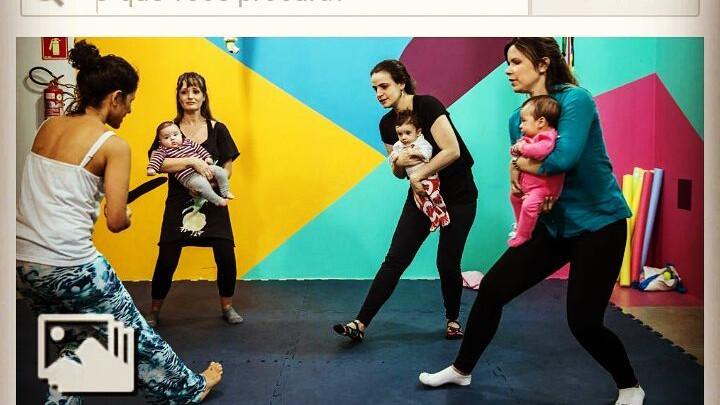 Dança Materna é destaque em Folha de São Paulo
