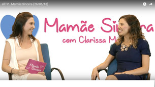 Amanda Mota no Mamãe Sincera, daAllTV
