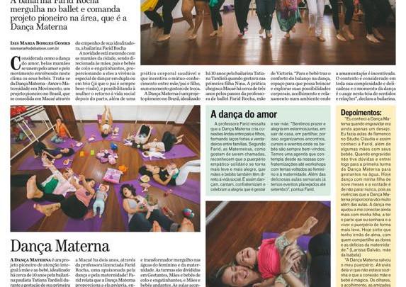 """Farid Rocha é destaque em matéria no jornal """"O Debate"""""""