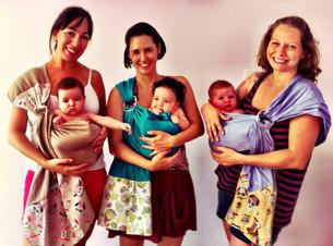 Posições para carregar bebês: as diretrizes da Dança Materna