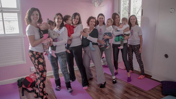 Novas professoras da Dança Materna!
