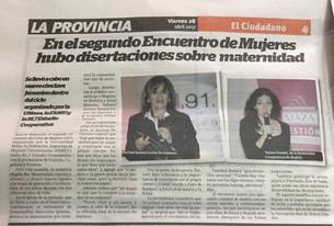 Tatiane Trovatti, nuestra profesora de laDança Maternaen Mendoza, Argentina
