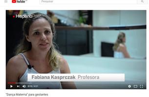 Reportagem Dança Materna para Gestantes!