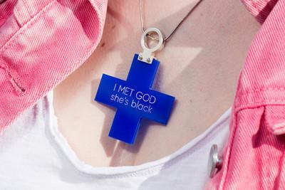 Крест. I MET GOD / Cross pendant. I MET GOD