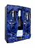 dárková krabice na 2 sklenice a 1 láhev vína cena 135,-kč
