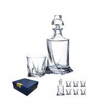 Quadro Whisky Set 6+1