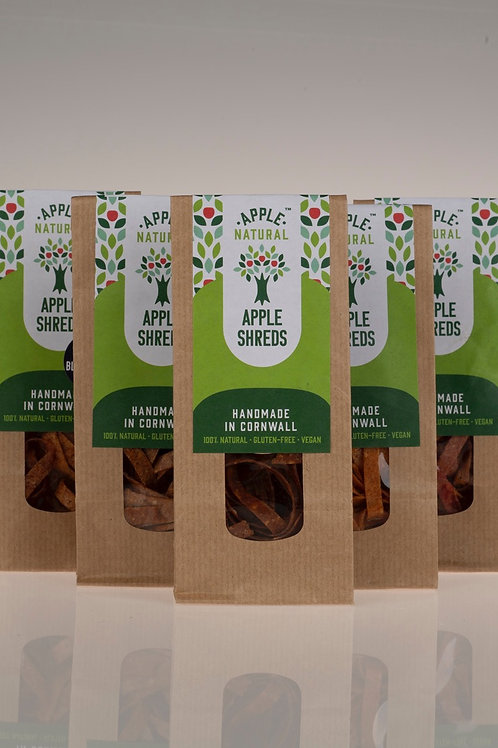 Apple Shreds - Apple with a hint of savoury 5 x 20g packs