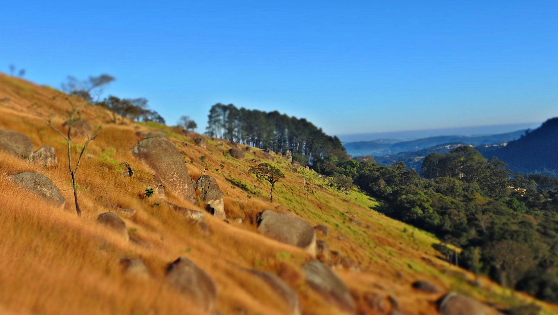 Rochas no Pico do Olho D'Água