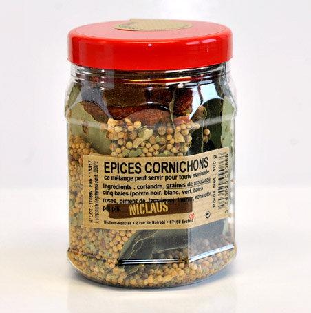Epices cornichons 100g