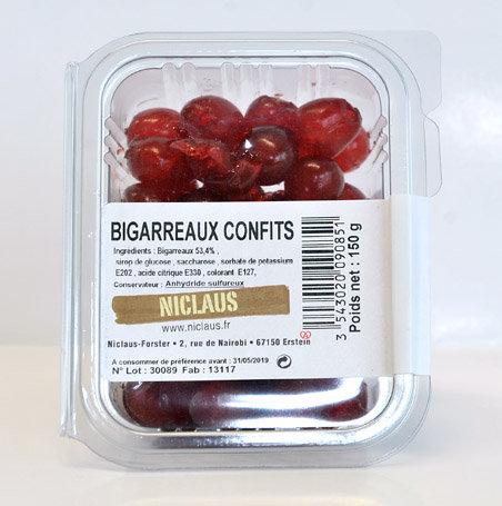 Bigarreaux confits 150g