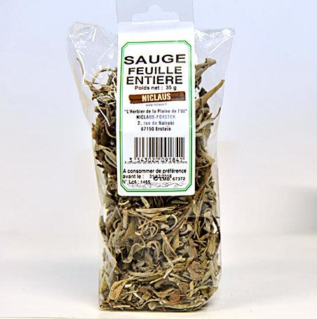 Sauge feuilles 35g