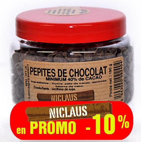 PROMO Pépites chocolat 190g