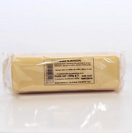 Pâte d'amandes blanche 250g