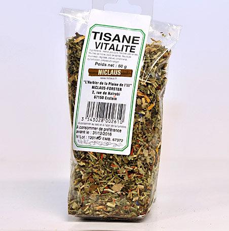 Tisane vitalité 60g