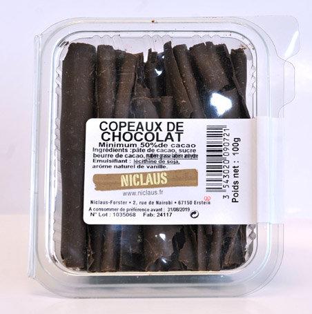 Copeaux chocolat noir 100g