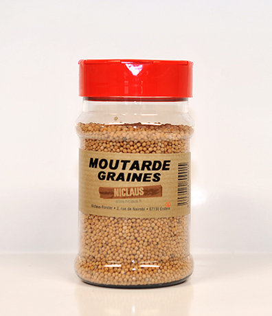 Moutarde graines 200g