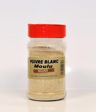 Poivre blanc moulu 150g