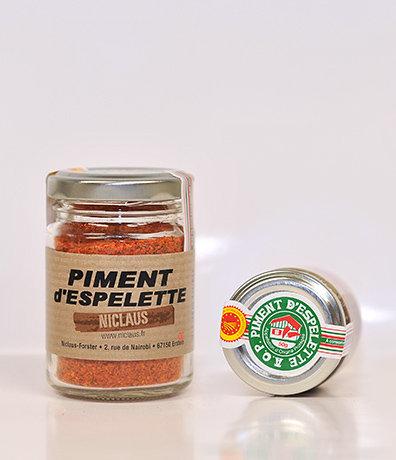 Piment d'espelette en poudre 50g