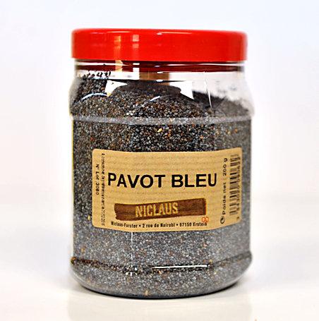 Pavot bleu 200g