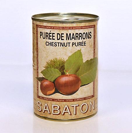 Purée de marrons 435g