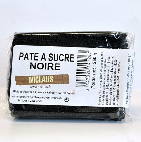 Pâte à sucre NOIRE 250g
