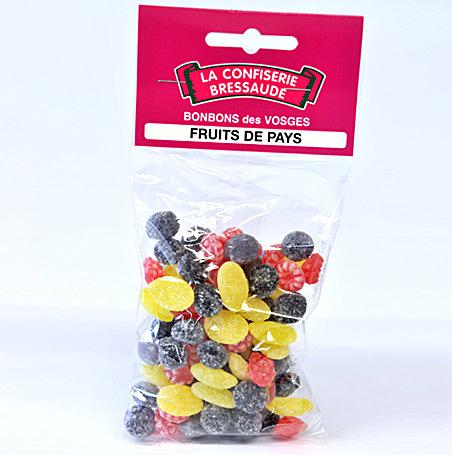 Bonbon Vosges FRUITS PAYS 150g