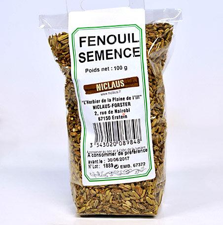 Fenouil semence 100g
