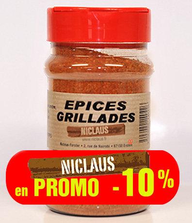 PROMO Épices Grillades : 200g