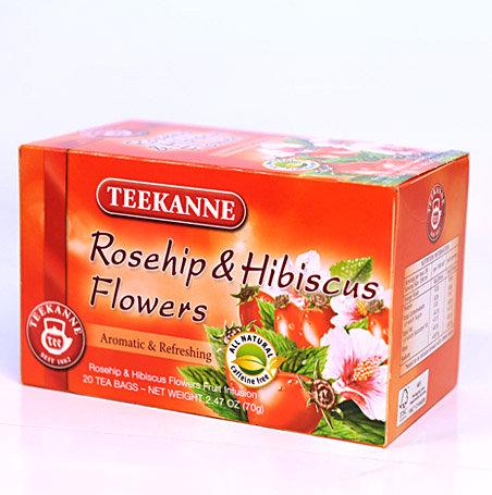 Teekanne Eglantier et Hibiscus