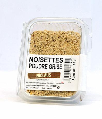 Noisettes poudre grise 80g