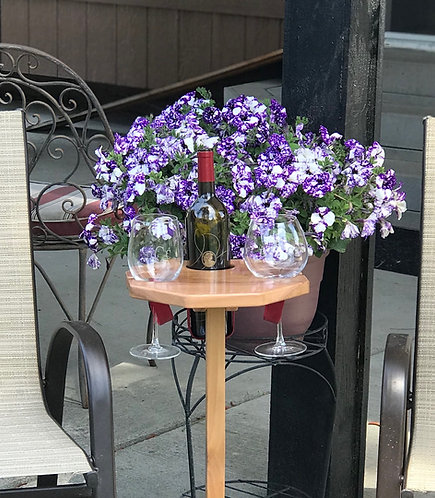 Octagon Wine Table